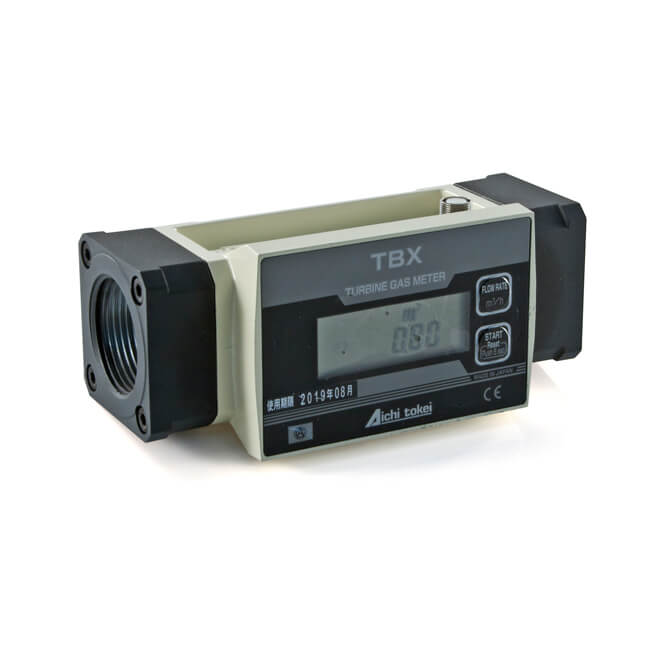 """Turbine Gas Meter with LCD - 1.1/4"""" BSP"""
