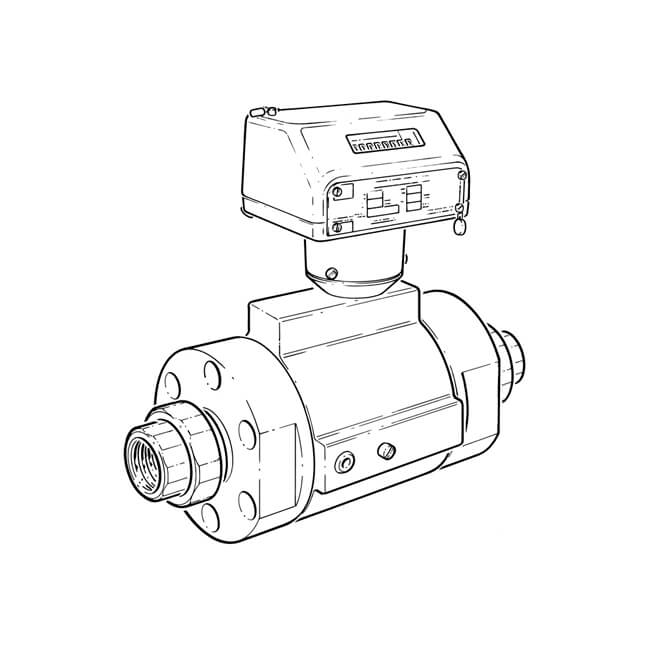 Find Common Cpt150 G650 Inline Turbine Gas Meter Quantometer Flange