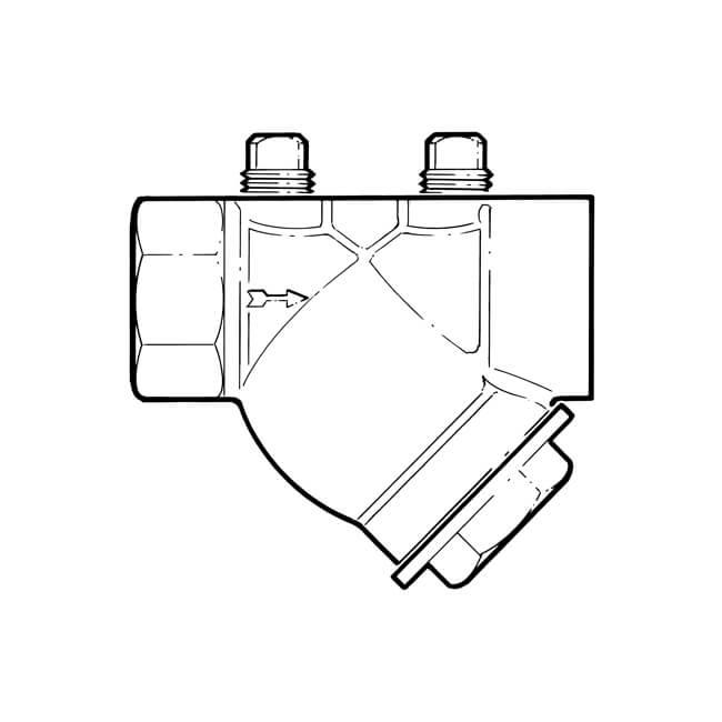 """In-line 'Y' Type Filter - 1/2"""" BSP TF"""