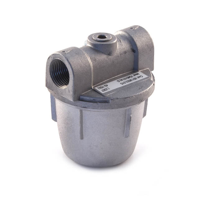 "In-Line Oil Filter - 1/4"" with Nylon Filter"