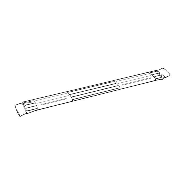 Radsnaps Radiator Pipe Cover - 1m, 3 Pack, Chrome