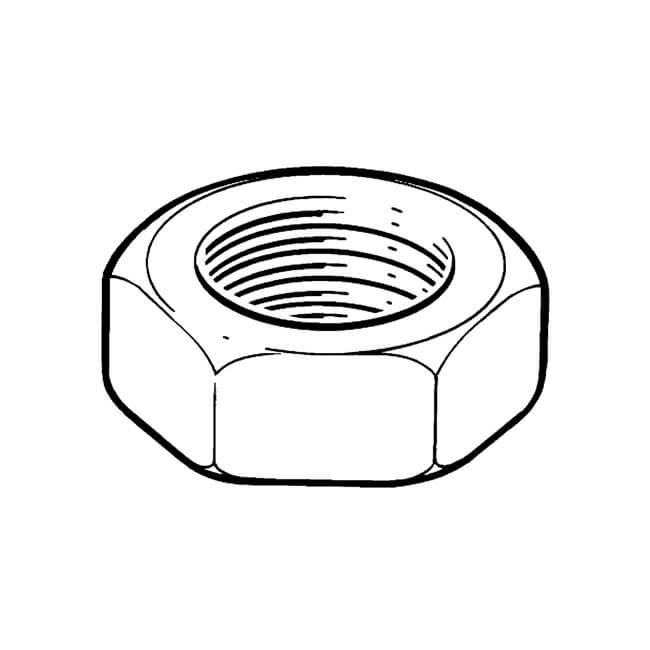 Nut - 10mm Steel