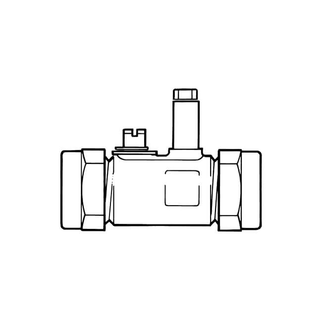 Gas Ball Valve - 15mm Compression Brass