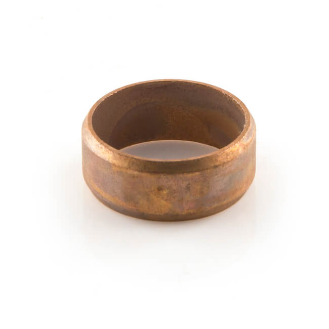 Soft Copper Parallel Olive - 15mm