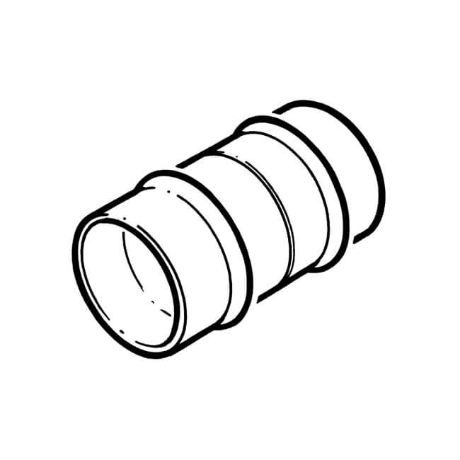 solder ring coupling straight socket copper - 15mm