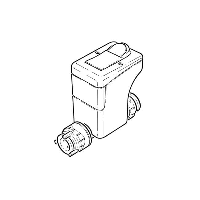 Surestop Mains Water Stopcock Push-fit - 15mm