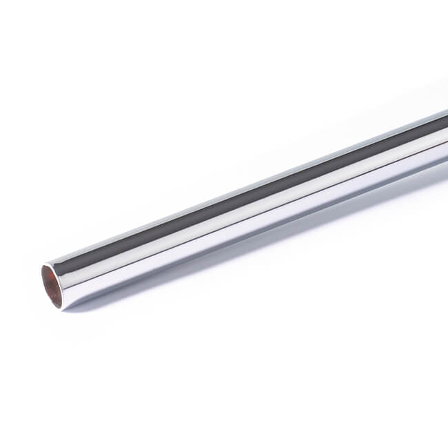 Chrome Plated Copper Tube - 15mm x 3m