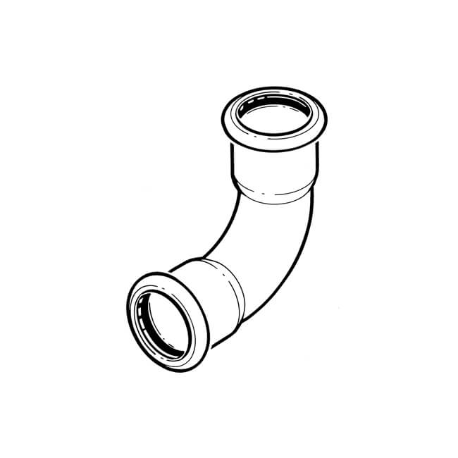 Xpress Press-fit Water Elbow - 15mm