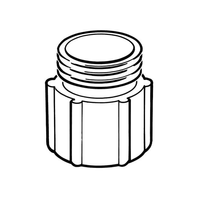 """Gas Meter Adaptor - 1"""" BSP TF x 1"""" BS 746 M"""