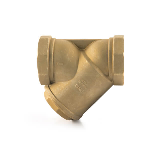 "Y In-line Strainer Brass - 2.1/2"" BSP PF"