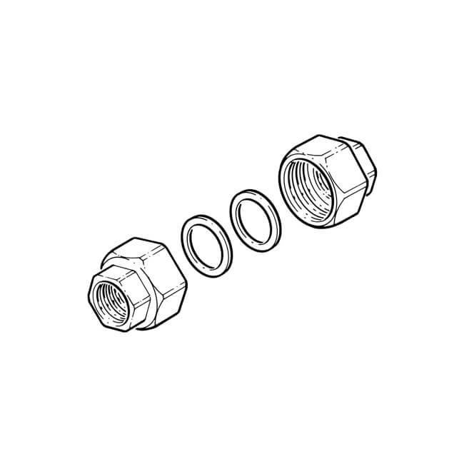 "Wilo Union Connector Kit - 2"" x 1.1/4"" BSP"