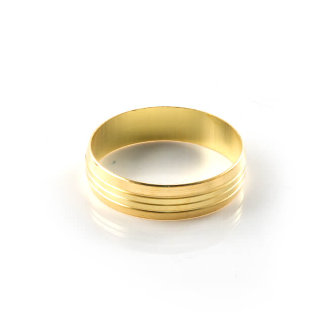 Brass Olive Compression UK - 22mm