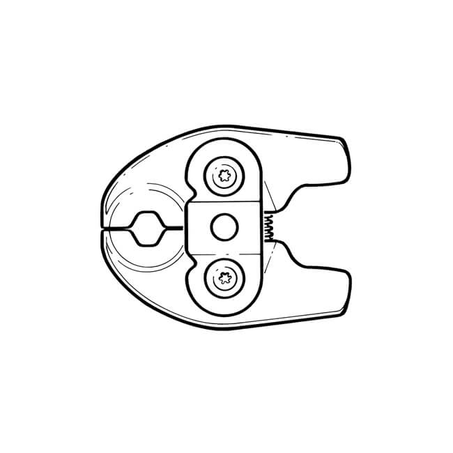 REMS Contour M Mini-Press Tongs - 22mm