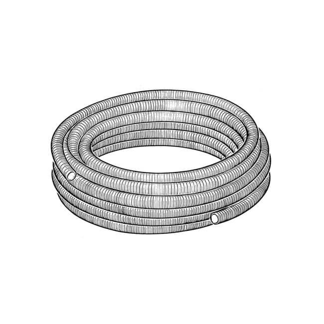 TracPipe® Flexible Steel Gas Pipe - DN22 x 30m