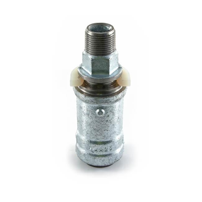 "Push-fit Meter Box Adaptor Gas MDPE - 25mm x 3/4"""