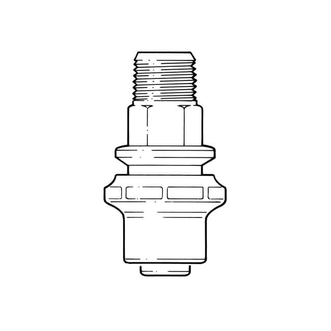 "Semi-concealed Meter Box Adaptor Draw-lock 25mm x 3/4"""