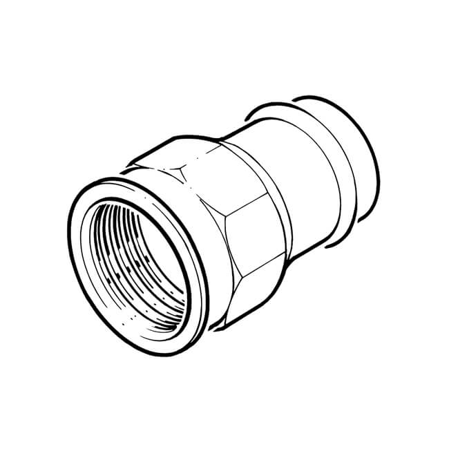 B Press Fit Straight Connector 28 Mm X 1 Bsp Female 15232