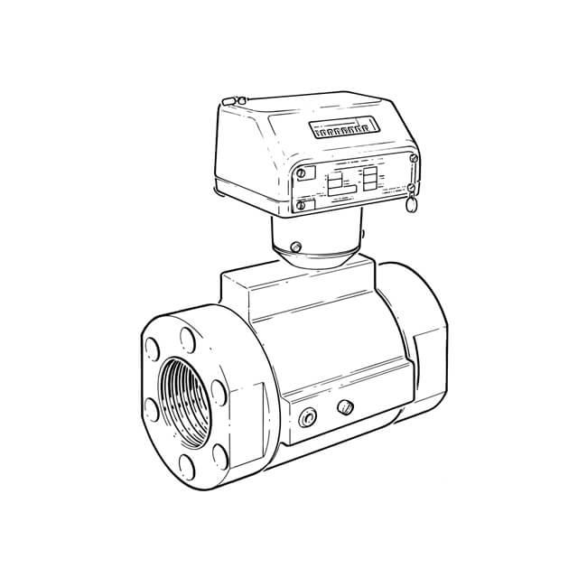 G40 Turbine Quantometer Gas Meter