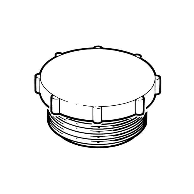 """Hollow Plug - 3/4"""" BS 746 Plastic"""