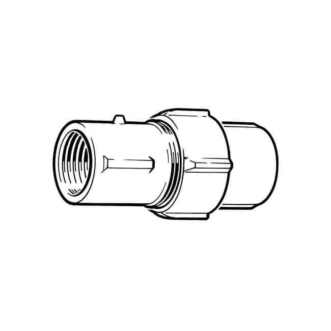 """Primofit® Adaptor Gas 3/4"""" BSP x 25mm MDPE Black"""