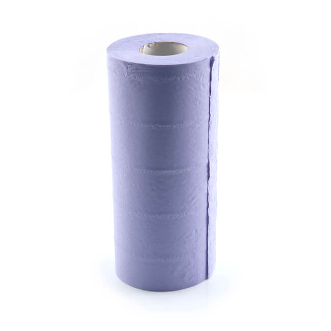 Blue Tissue Roll 3 Ply - 40m