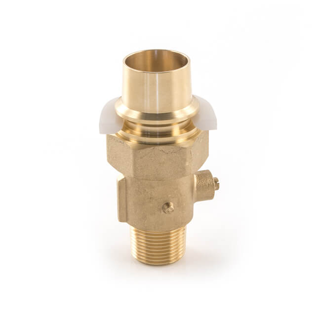 "Transition Fitting - 32mm x 1"" Brass"