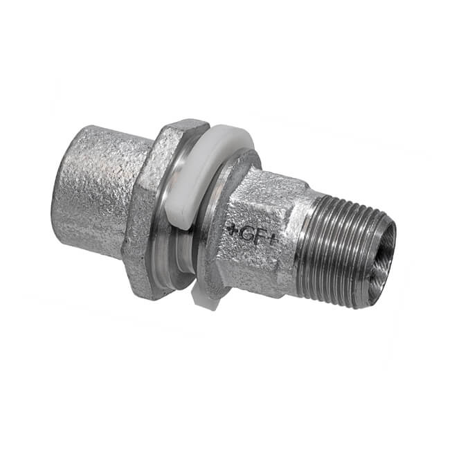 Meter Box Adaptor Draw-lock - 32mm x 1""