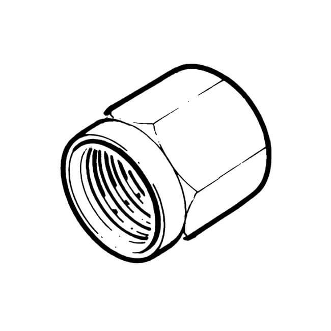 Nut UK Compression - 4mm