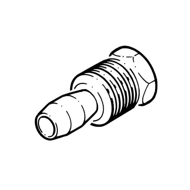 Spare Nut/Olive for Pilot Burners - 4mm