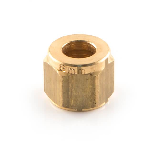 Nut UK Compression - 6mm