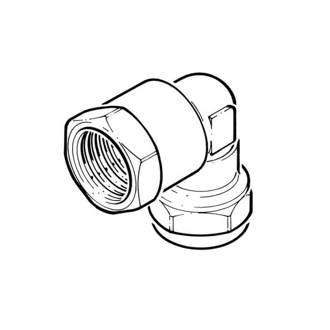 "Elbow UK Compression - 6mm x 1/4"" BSP PF"