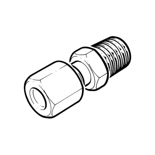 """NEW Male Stud Couplings 6 mm x 1//8/"""" stainless steel single ferrule BSP P"""