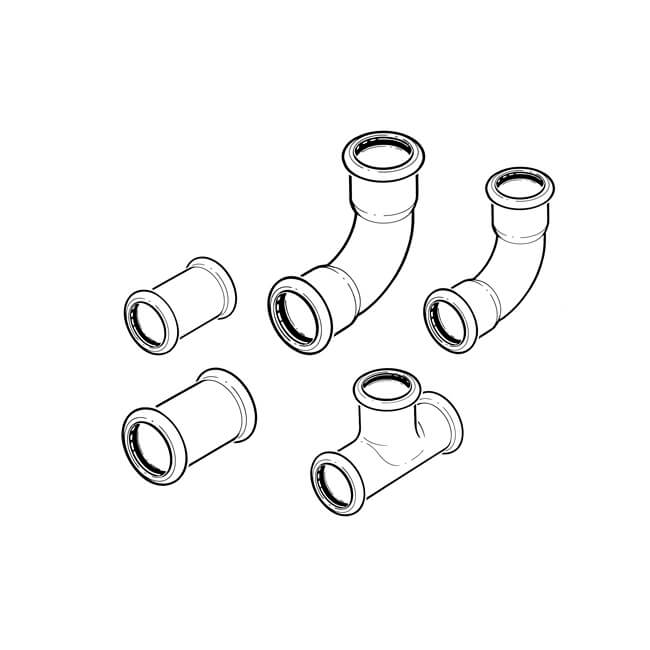 Xpress Water Fittings Pack - 70 Piece