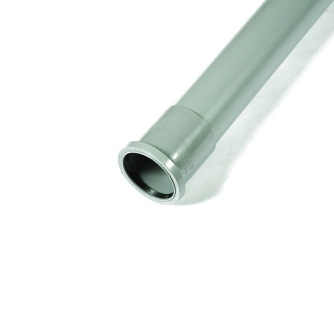Soil Pipe Single Socket 82mm X 3m Grey 12955 Bes Co Uk