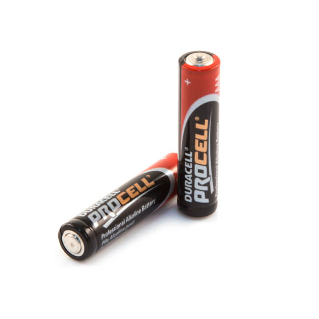 Duracell AAA Alkaline Batteries - Pack of 10