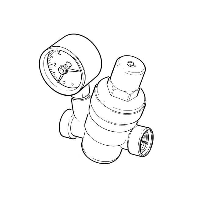 Adjustable Pressure Reducing Valve - 1/2""