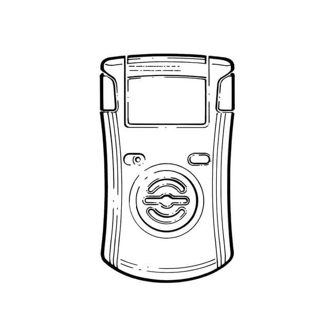 Anton Crowcon Clip Carbon Monoxide Personal Alarm