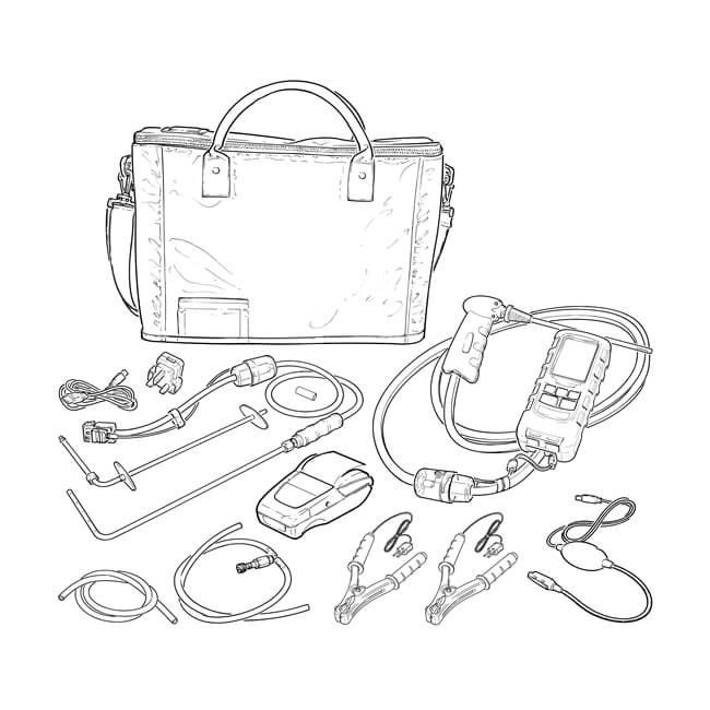 Anton Sprint Pro3 Flue Gas Analyser Kit B
