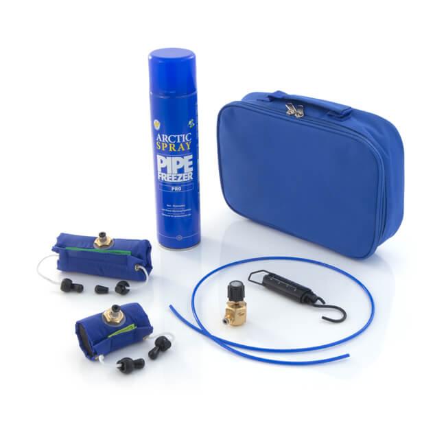 arctic spray pro solo pipe freezer kit 23696. Black Bedroom Furniture Sets. Home Design Ideas