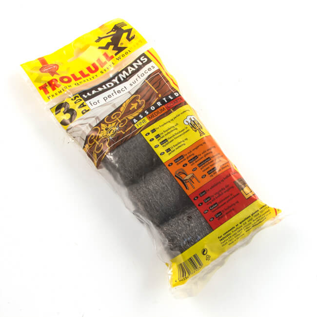 Assorted Wire Wool Pads - Pack of 3
