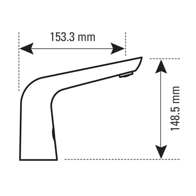 Infrared Sensor Automatic Basin Tap