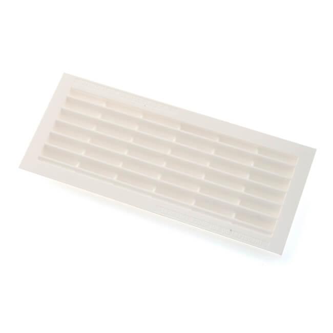 """Door Ventilator B101 - 10"""" x 4"""", White"""