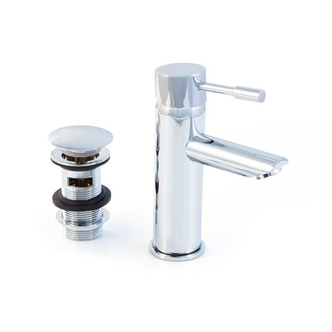 Basin Mixer Pop-up Waste & Flexible Tap Connectors