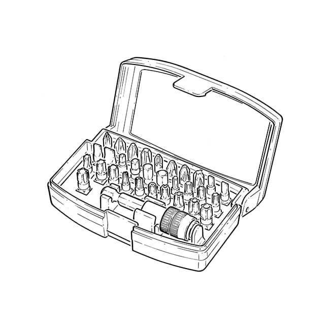 Bosch 32 Screwdriver Bit Set