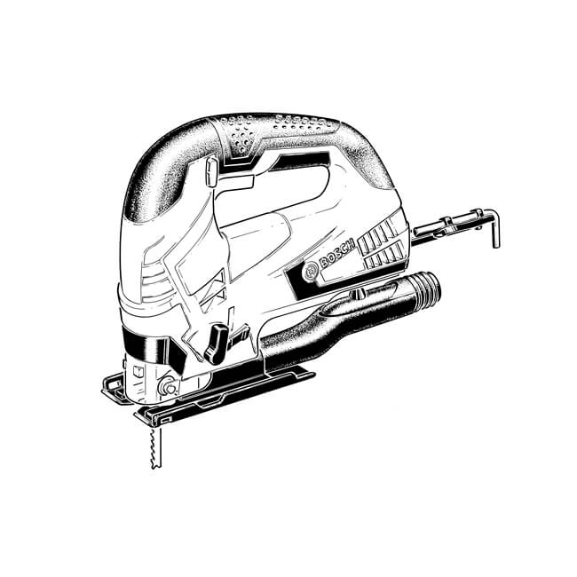 Bosch Jigsaw - 110 V GST 90 BE Professional