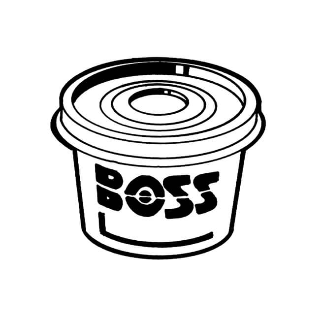Boss White Jointing Compound - 400g Tub