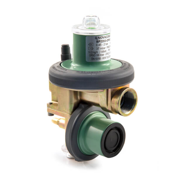 Clesse Propane Low Pressure Regulator - 10.5 kg/hr