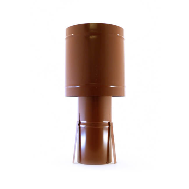 Brewer Windmaster Cowl - Solid Fuel 125mm