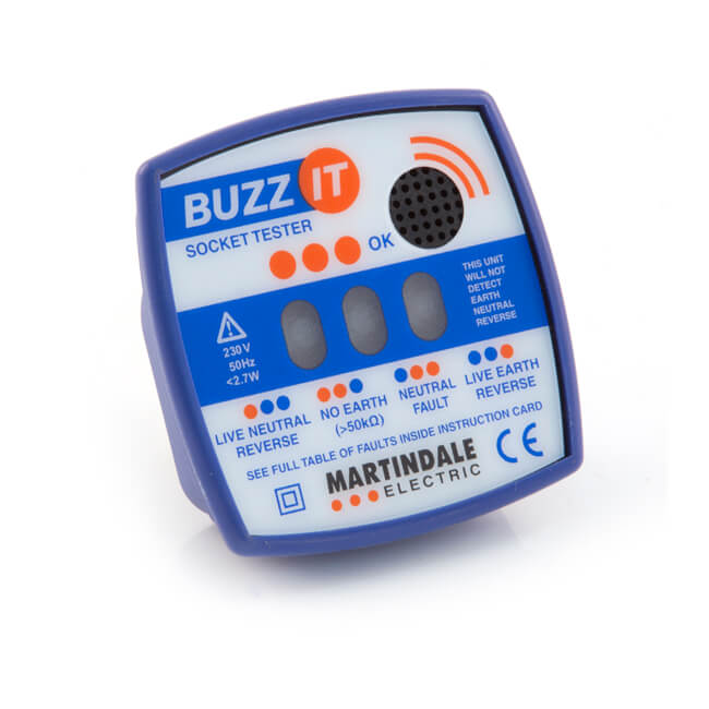 Buzz-It BZ101 Check Plug with Audible Alarm