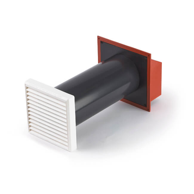 GAS2H Circular Ventilator - Terracotta/White